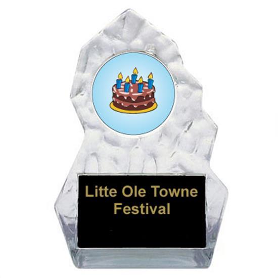 Lightning Sculpted Cake Decorating Trophy