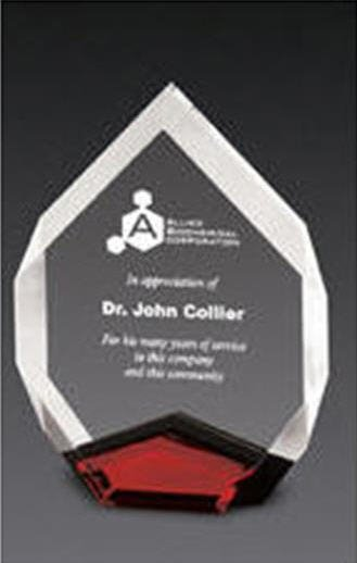 Red Marquis Acrylic Award