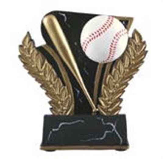 Baseball 6 Inch Resin Trophy