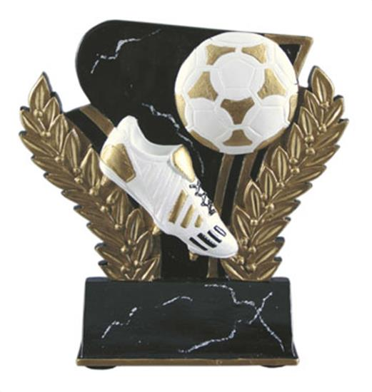 Soccer 6 Inch Resin Trophy