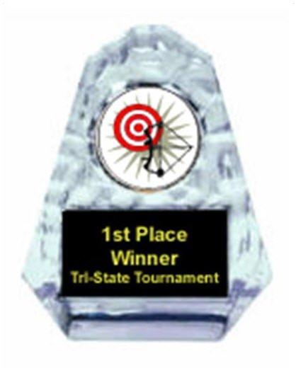Archery Sculpted Ice Award