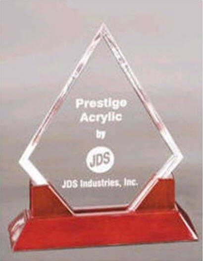 Diamond Acrylic Trophy