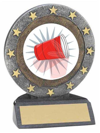 Flip Cup Resin Trophy