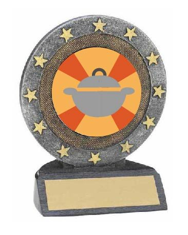 Best Thanksgiving Side Dish Resin Trophy