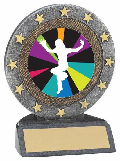 Just Dance Wii Resin Trophy