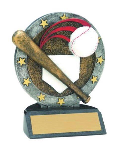 Baseball Resin Figure Trophy
