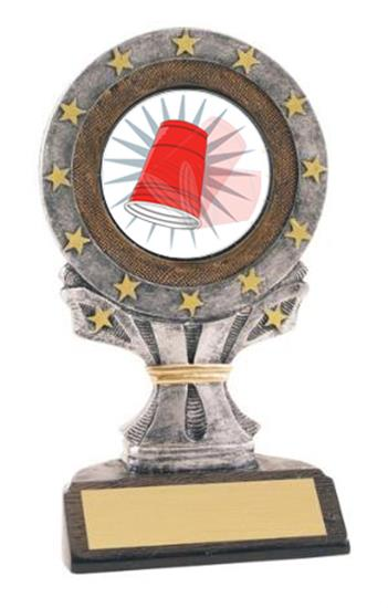 All Star Resin Flip Cup Trophy