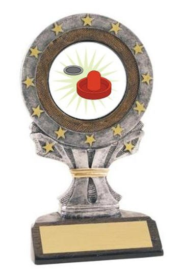 Air Hockey All Star Resin Trophy