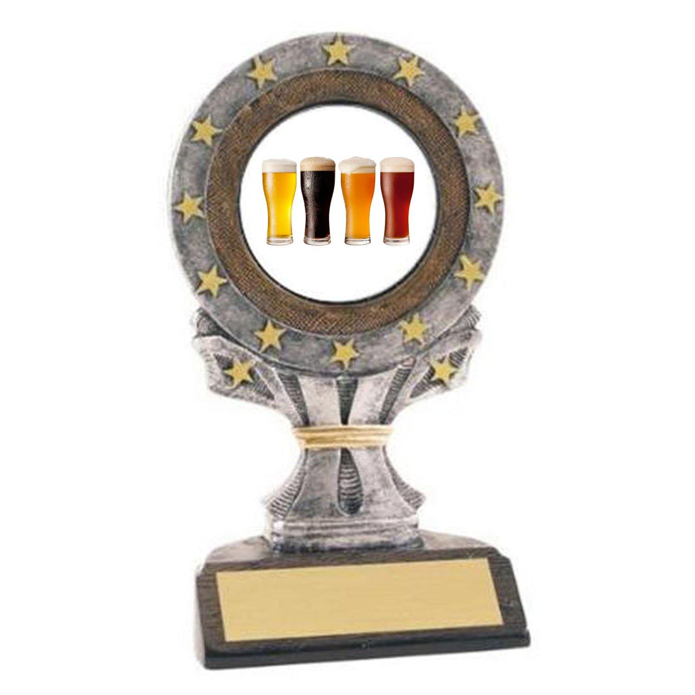 Beer Tasting All Star Resin Trophy