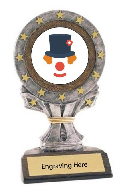 Funniest Halloween Costume All Star Resin Trophy