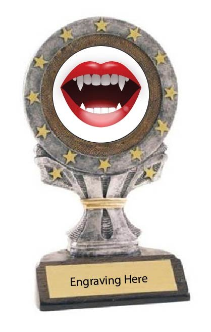 Sexiest Halloween Costume All Star Resin Trophy