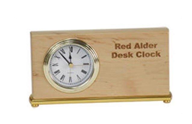 Red Adler Desk Clock