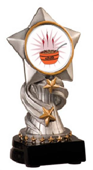 Chili Cook Off Encore Resin Trophy