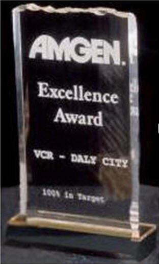 Reflection Ice Top Acrylic Award