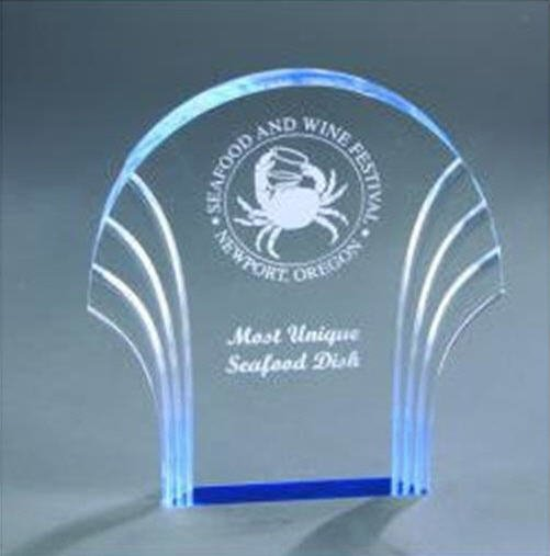 Self Standing Acrylic Shell Award
