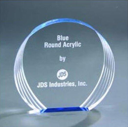 Free Standing Round Acrylic Award