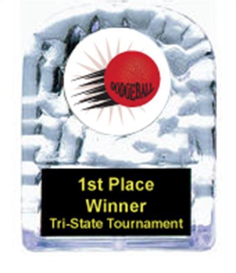 Dodgeball Cracked Ice Award
