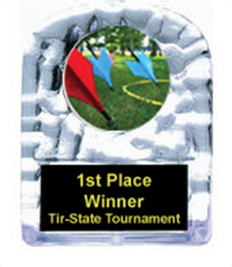 Lawn Dart Cracked Ice Award