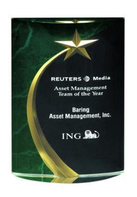 Green Shooting Star Award