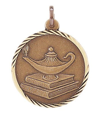 Lamp of Knowledge Sunray Medal