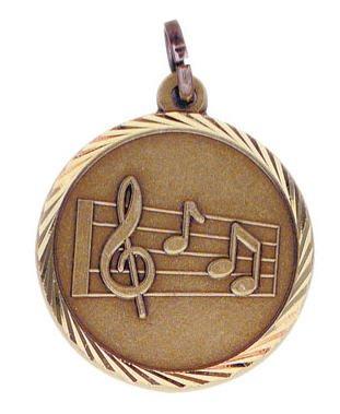 Music Sunray Medal