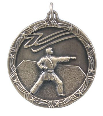 Karate Star Medal