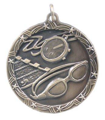 Swimming Star Medal