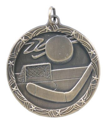 Hockey Star Medal 2 3/4 Inch