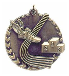 Track Millennium Medal
