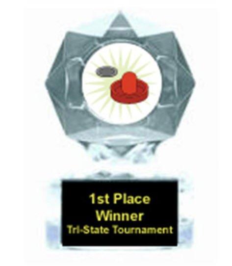 Air Hockey Clear Star Award