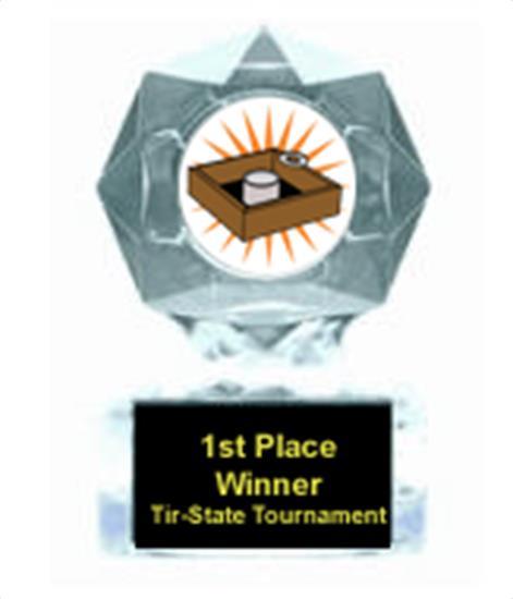 Washer Toss Clear Star Award