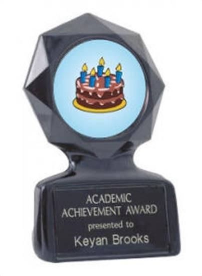 Black Star Cake Decorating Trophy