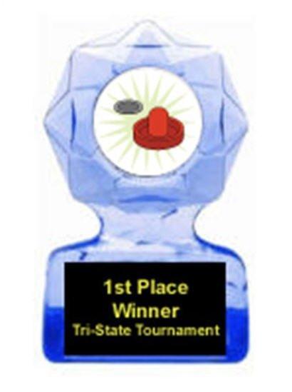 Air Hockey Blue Star Award
