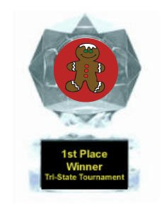 Gingerbread Blue Star Award