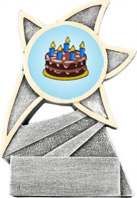 Cake Decorating Jazz Star Trophy