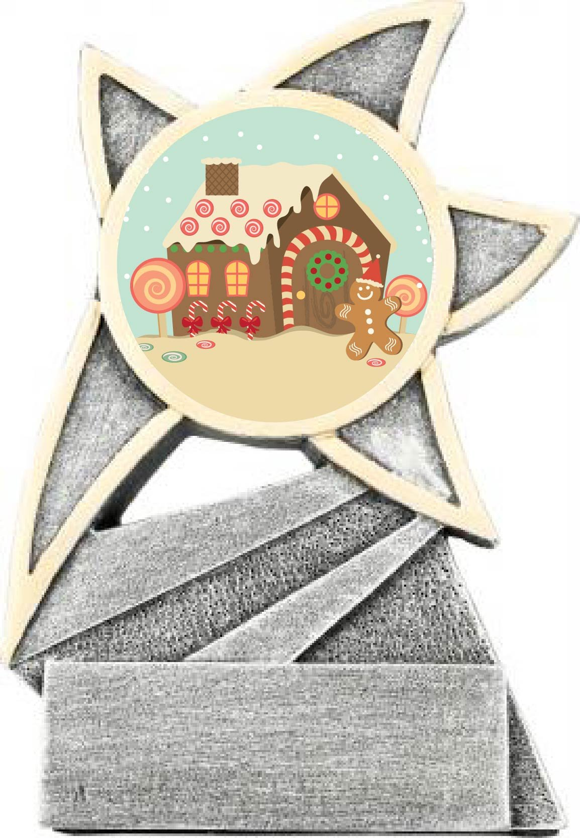 GingerBread House Jazz Star Trophy