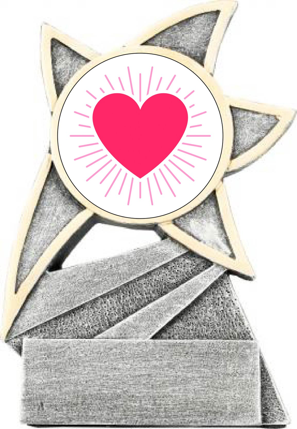 Valentine's Day Star Trophy