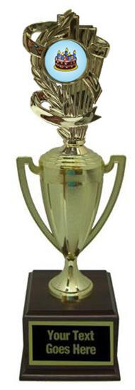 Cake Decorating Gold Cup Trophy