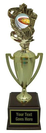 Chili Bowl Cook Off Gold Cup Trophy