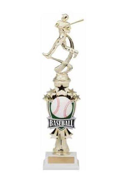 Baseball Shooting Star Riser Trophy