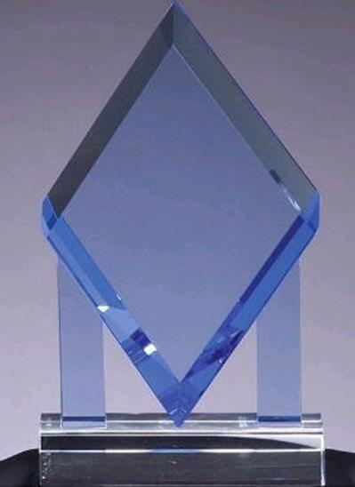 Blue Diamond Crystal Award