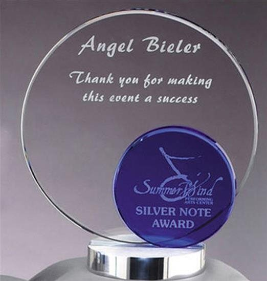 Blue Circle Glass Award
