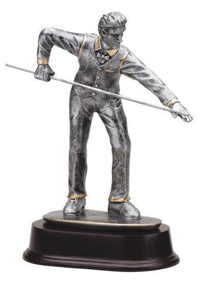 Billiards Player Trophy