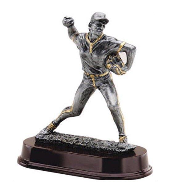 Baseball Pitcher Trophy