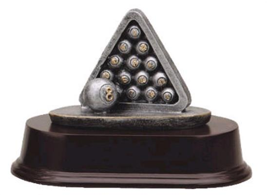 Billiards Rack Trophy