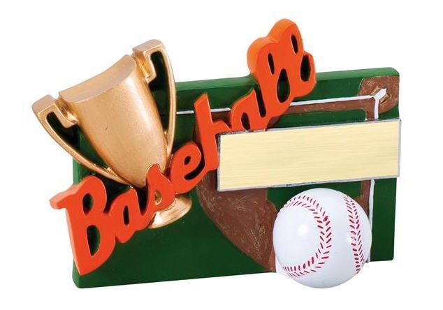 Baseball Winners Cup Resin Trophy