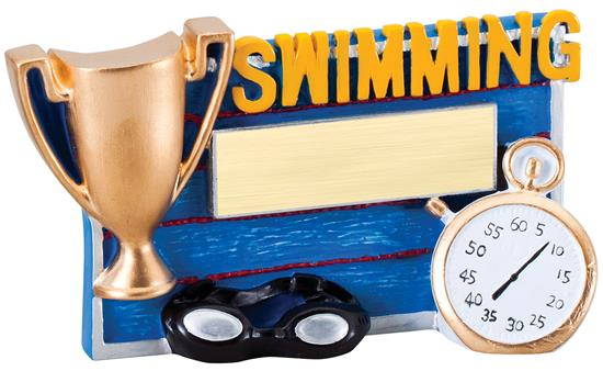 Swimming Winners Cup Resin Trophy