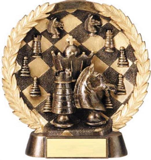 Chess Trophy 7 1/2 Inch