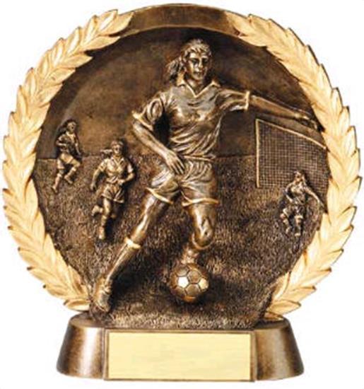 Female Soccer Trophy 7 1/2 Inch