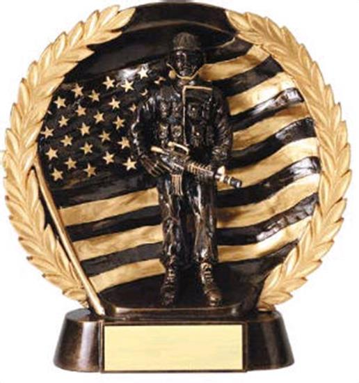 Military Trophy 7 1/2 Inch